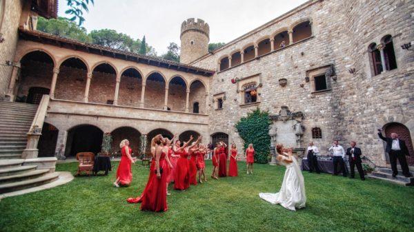 организация свадьбы в замке в Испании